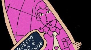 Q-721 MOTION COMICS, WEBCOMICS LA PORTA DELLA MANDORLA