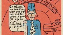 "Q-721 MOTION COMICS - webcomics ""L'Intruso"" - ""The Intruder"""