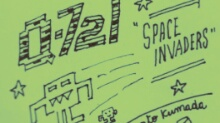 "Q-721 motion comics & webcomics#64 - ""Space Invaders"""