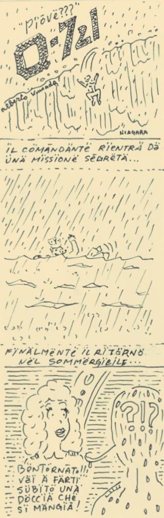 MOTION COMICS & Webcomics #65 - SINGING IN THE RAIN - CANTANDO SOTTO LA PIOGGIA - 雨に唄えば