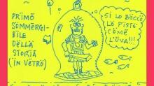 Q-721 motion comics&webcomics#67 - The first submarine of history