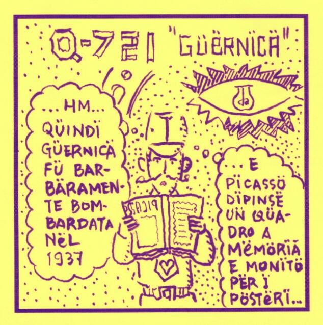 Q-721 motion cmics & webcomics - Guernica