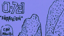 Q-721 motion comics and italian webcomics - I faraglioni - Sea stack