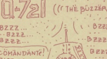 Q-721 motion comics and webcomics - the buzzer - モーションコミック、4コマ漫画