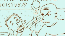 Fight club - pygmachia - pigmachia - Q-721 motion comics and italian webcomics - モーションコミック、4コマ漫画