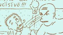 Fight club - pygmachia - pigmachia - Q-721 motion comics and italian webcomics - モーションコミック、4コマ漫画