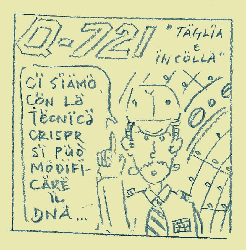 Cut and paste - Taglia e incolla - Q-721 motion comics & italian webcomics - モーションコミック、4コマ漫画