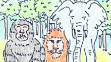 AFRICA - Q-721 motion comics & italian webcomics - モーションコミック、4コマ漫画