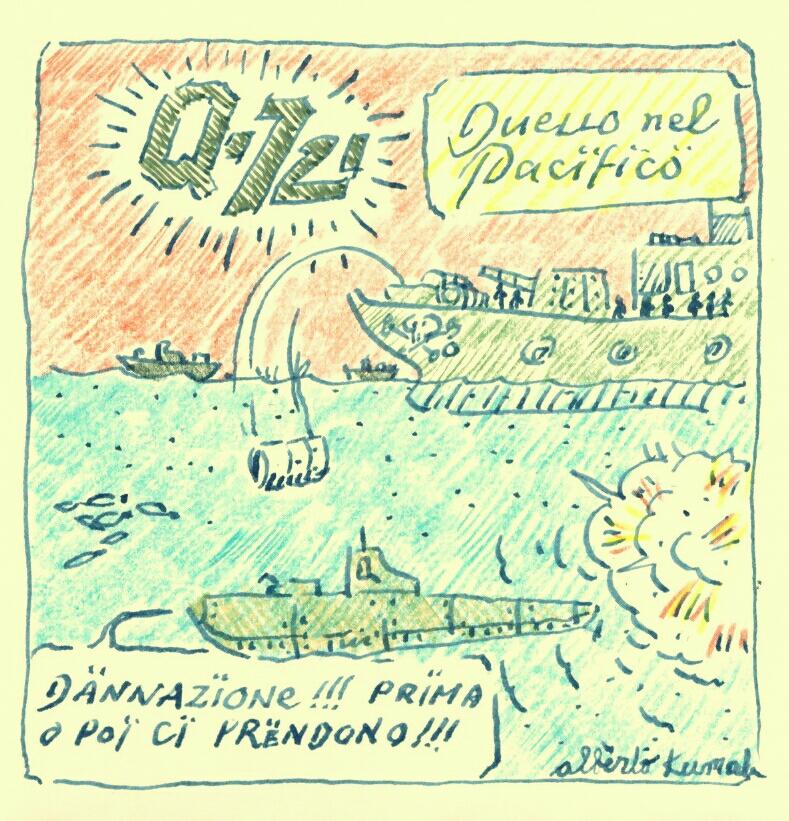 Q-721 motion comics and webcomics italiani - Battle in the Pacific