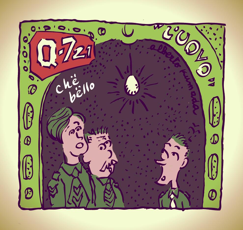 q-721 motion comics and videocomics