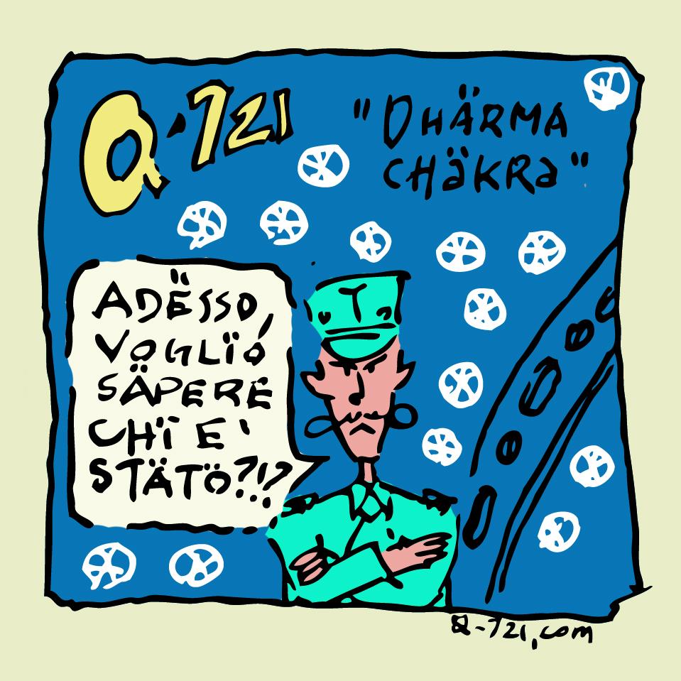 q-721 webcomics italiani